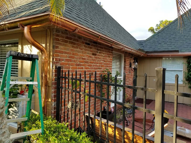 copper-gutters-palm-beach-fl