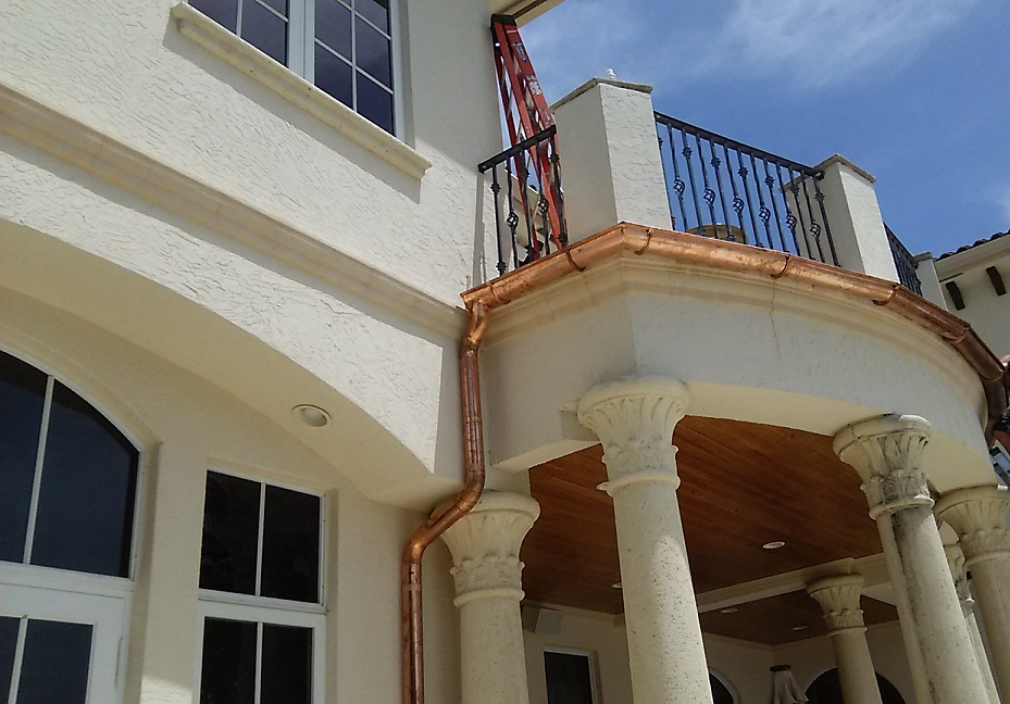 copper-gutters-palm-beach