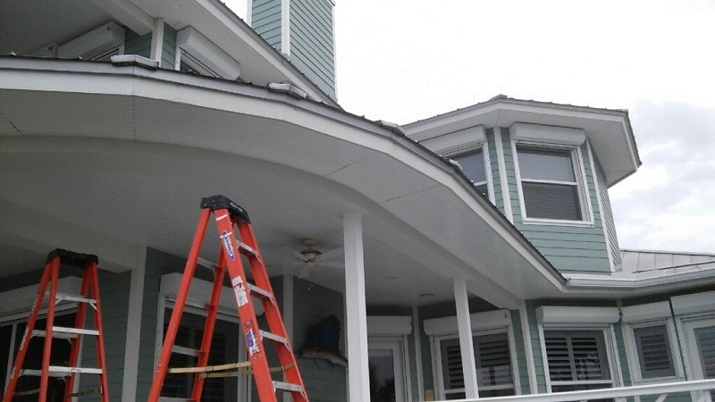 Oversized Downspouts