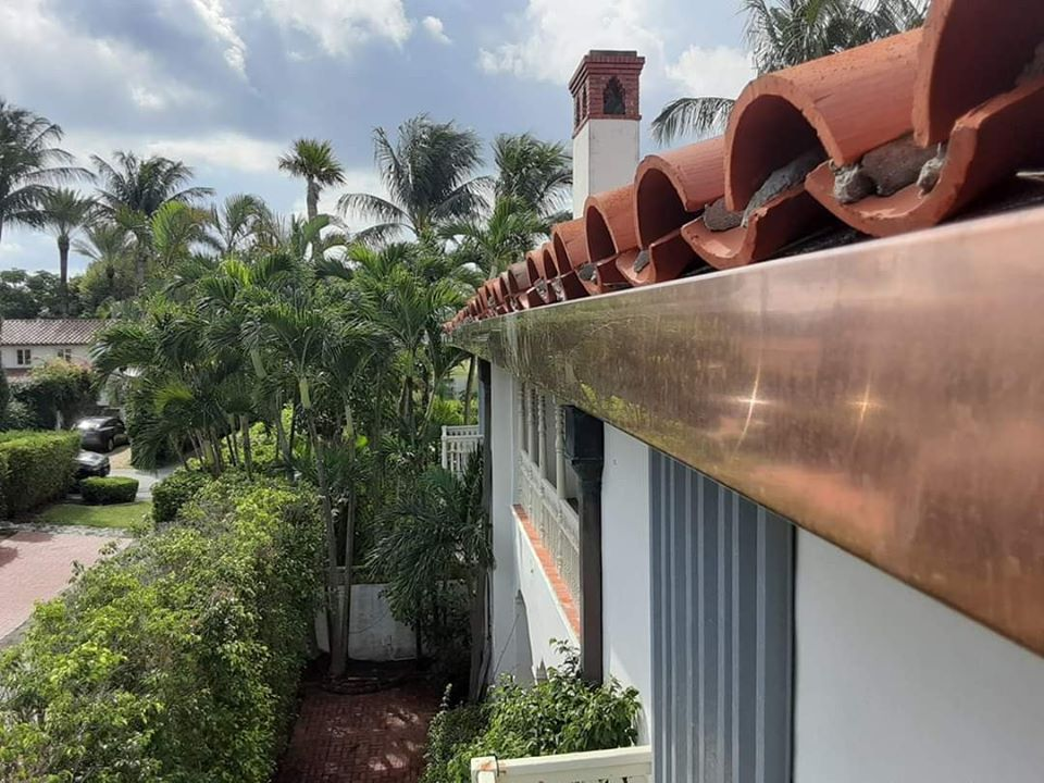 Seamless Gutters Indian River Shores FL