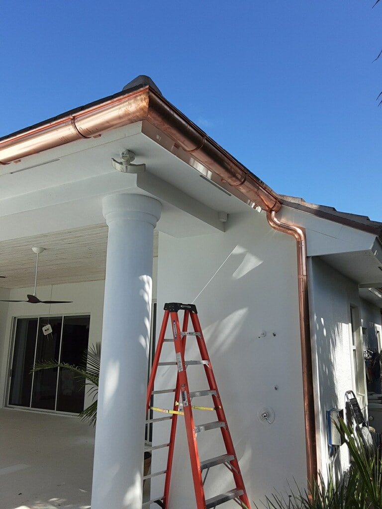 seamless gutters Palm Springs